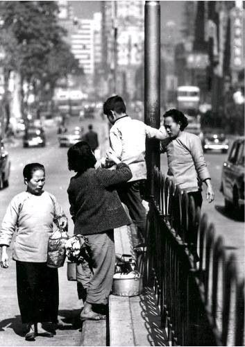 Crossing Nathan Road HK