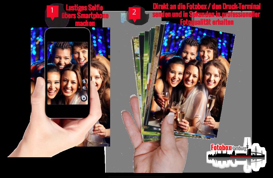 Fotobox Hamburg Smartphone-Booth Fotobox mieten