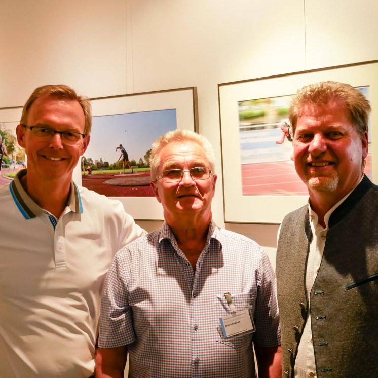Dr. Uhl, Herr Schobloch, Herr Zipfel (Bürgermeister Neuried)