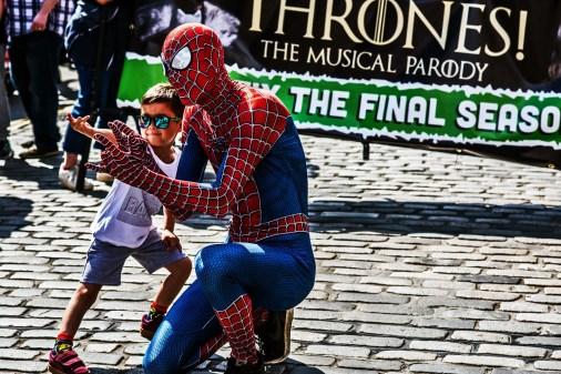 Ich bin auch Spiderman