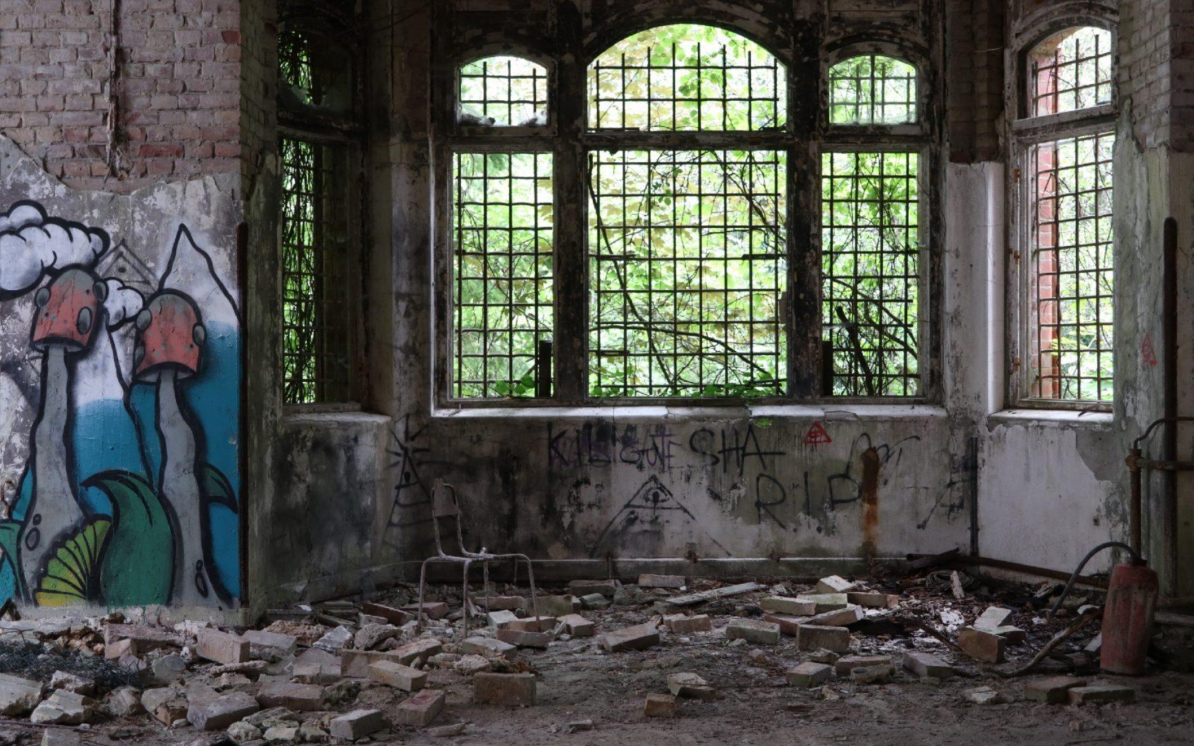Heilstätten Belitz - von Volker Birmann