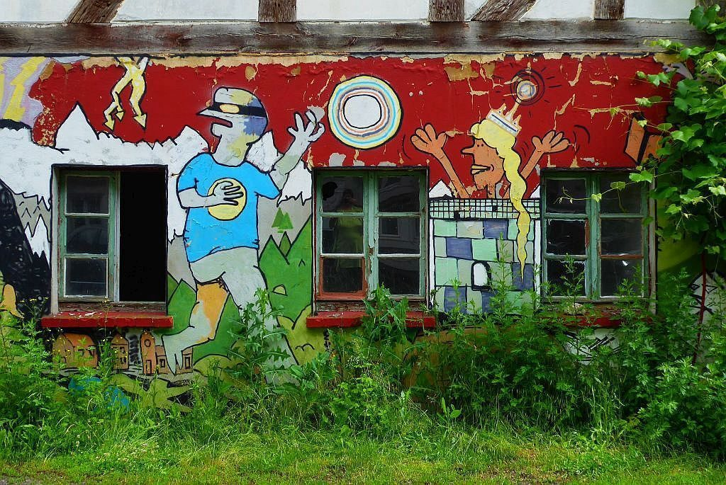 Graffiti - von Christa Wiedenhöfer