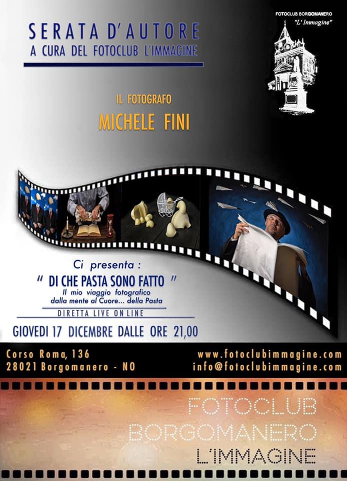Michele Fini - serata autore al Fotoclub Borgomanero l'Immagine