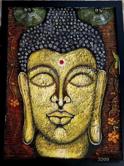 Art prints of Lord Budhha Paintings for sale