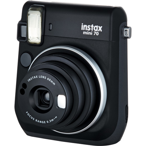 Fujifilm Instax Mini 70 Instant Film Camera Black 3