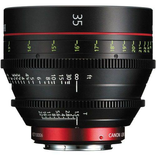 Canon CN-E 35mm T1.5 L F Cinema Prime Lens (EF Mount)