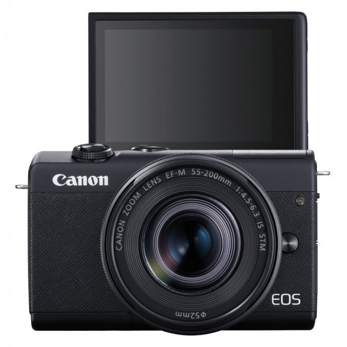 Canon EOS M200 Mirrorless Camera with 15-45mm IS STM Lens (Black)
