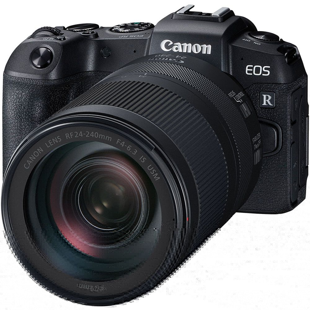 Canon EOS RP Mirrorless Digital Camera with RF 24-240mm Lens and RF Adapter
