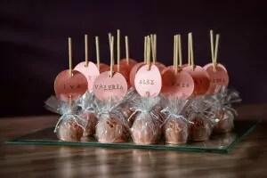 Svatební minidezerty - profesionální produktová fotografie jídla