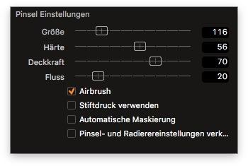 Die neuen Pinsel-Optionen von Capture One 9