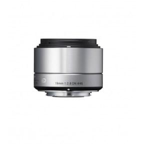 Sigma NEX 19mm F/2.8 zilver ART DN voor Sony NEX