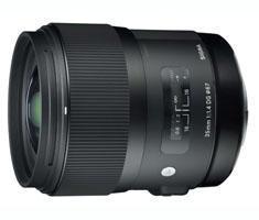 Sigma 35mm F/1.4 ART DG HSM voor Canon