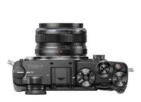 Olympus PEN-F zwart + 17mm F/1.8 zwart
