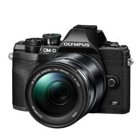 OLYMPUS OMD E-M10 MARK IV ZWART + 14-150MM F4.0-5.6 ZWART