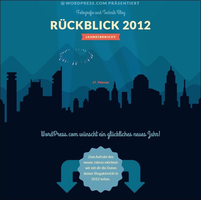 Fotofreak.ch - Jahresrückblick 2012