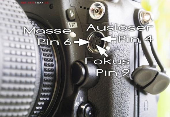 Nikon D800 Pinbelegung Nikon DC0