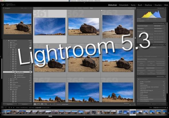 Adobe Lightroom 5.3