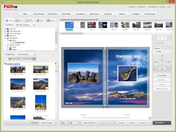 Fuji - Fotobuch Software