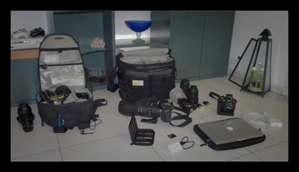 Fotoausrüstung für Reportagefotografie