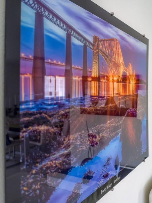 120cm * 80cm Acrylglasbild - Forth Bridge - Scottland