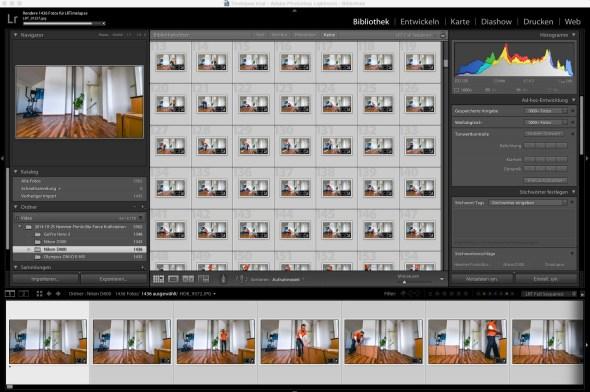 Timelapse Bearbeitung mit Adobe Lightroom 5