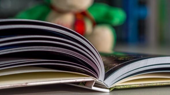 Verarbeitungsdetails Fotobuch - Unterseite / Buchrücken