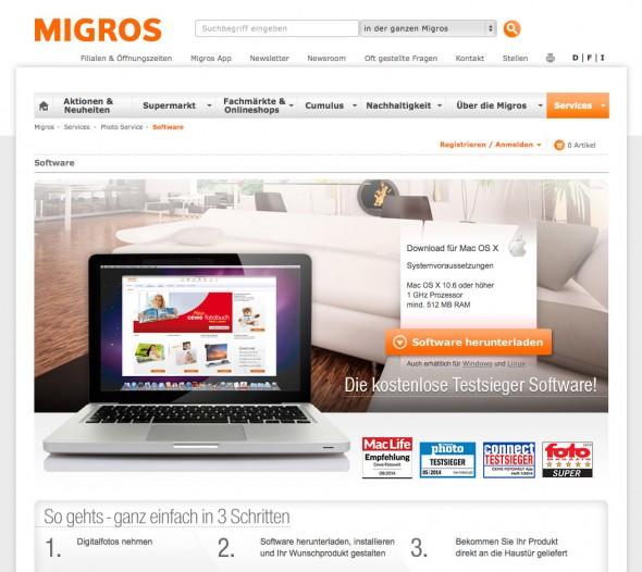 Migros Fotobuch