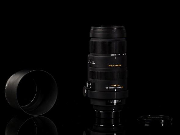 Sigma 120-400mm 1:4.5-5.6 APO DG OS HSM / 77mm