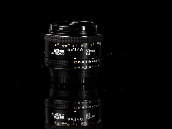 AF Nikkor 50mm 1:1.8 / 52mm