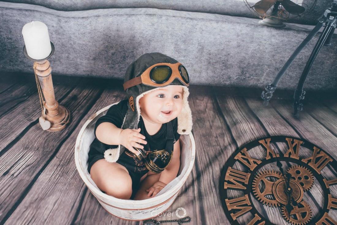 Fotografía de bebés y recién nacidos - Estudio Gover