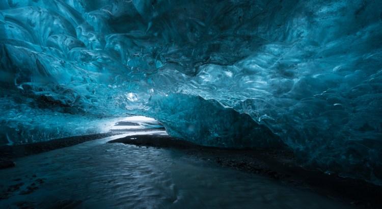 gang naar de ijsgrot