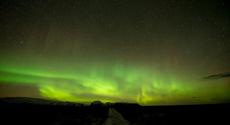 Timelapse voorbeelden: noorderlicht boven IJsland