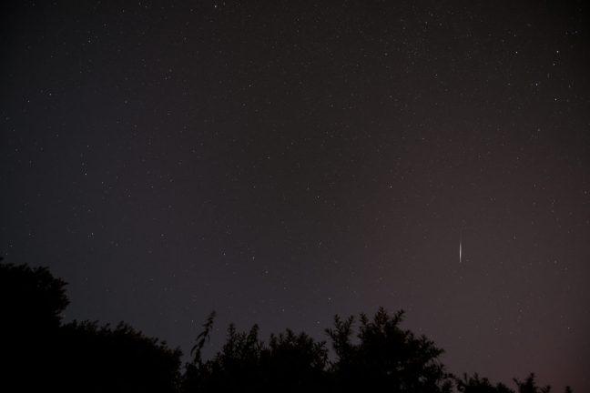 Perseïden: meteoren / vallende sterren