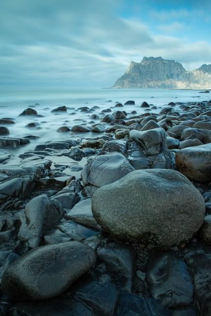 Prachtige stranden op de Lofoten