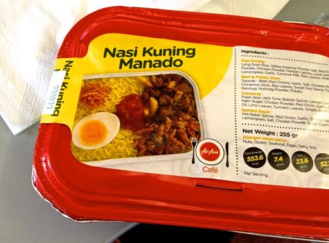 air asia indonesia nasi kuning manado