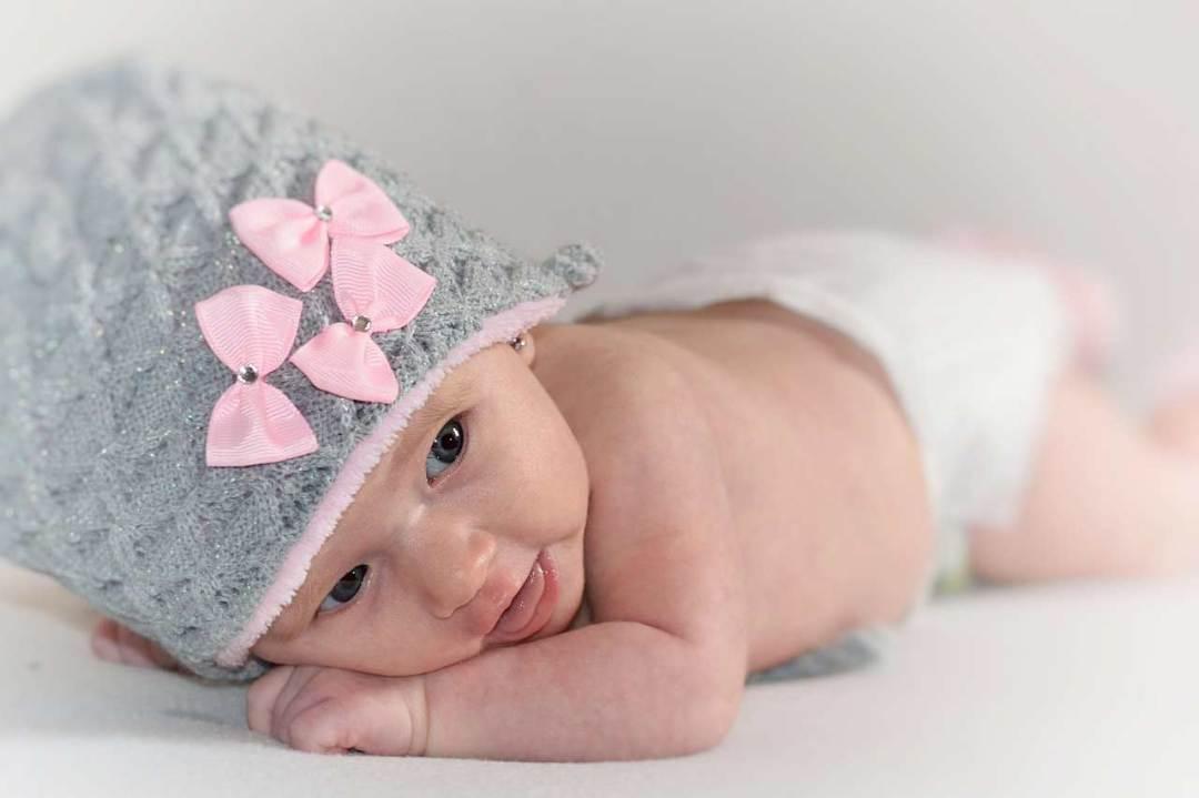 Newborn baby fotografering