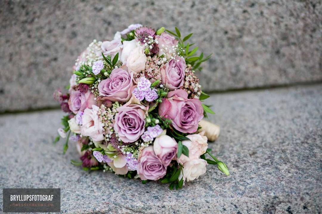 brudebuketten bryllup Fredericia