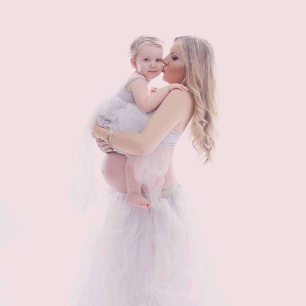 kjole til gravid fotografering Fredericia