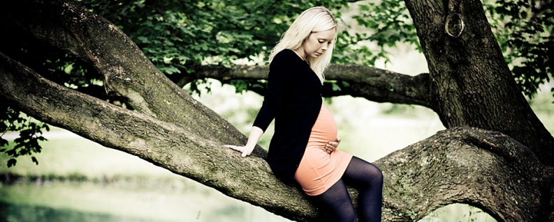 Gravid fotograf