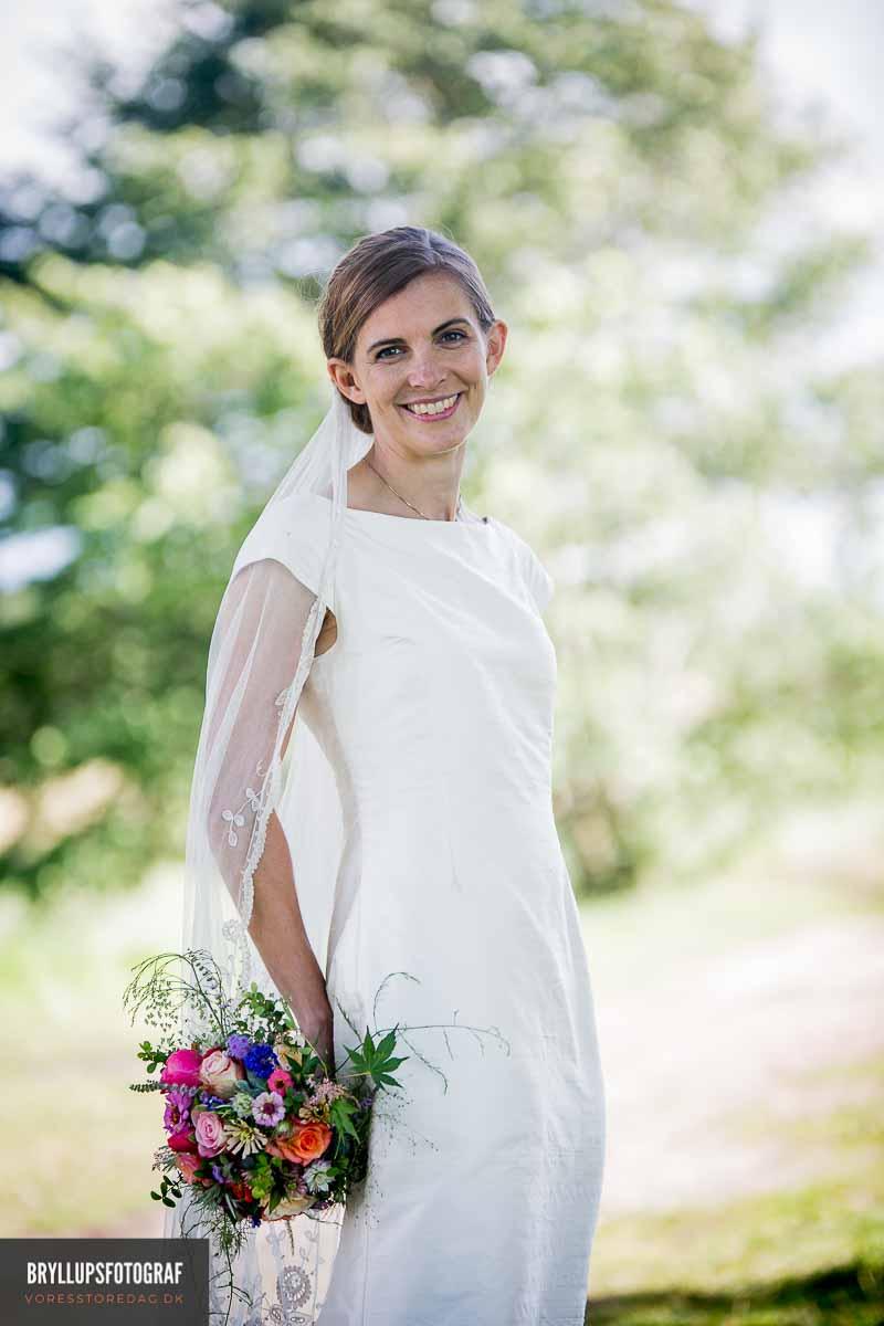 Dygtige bryllupsfotografer som tager smukke bryllupsbilleder i hele Jylland