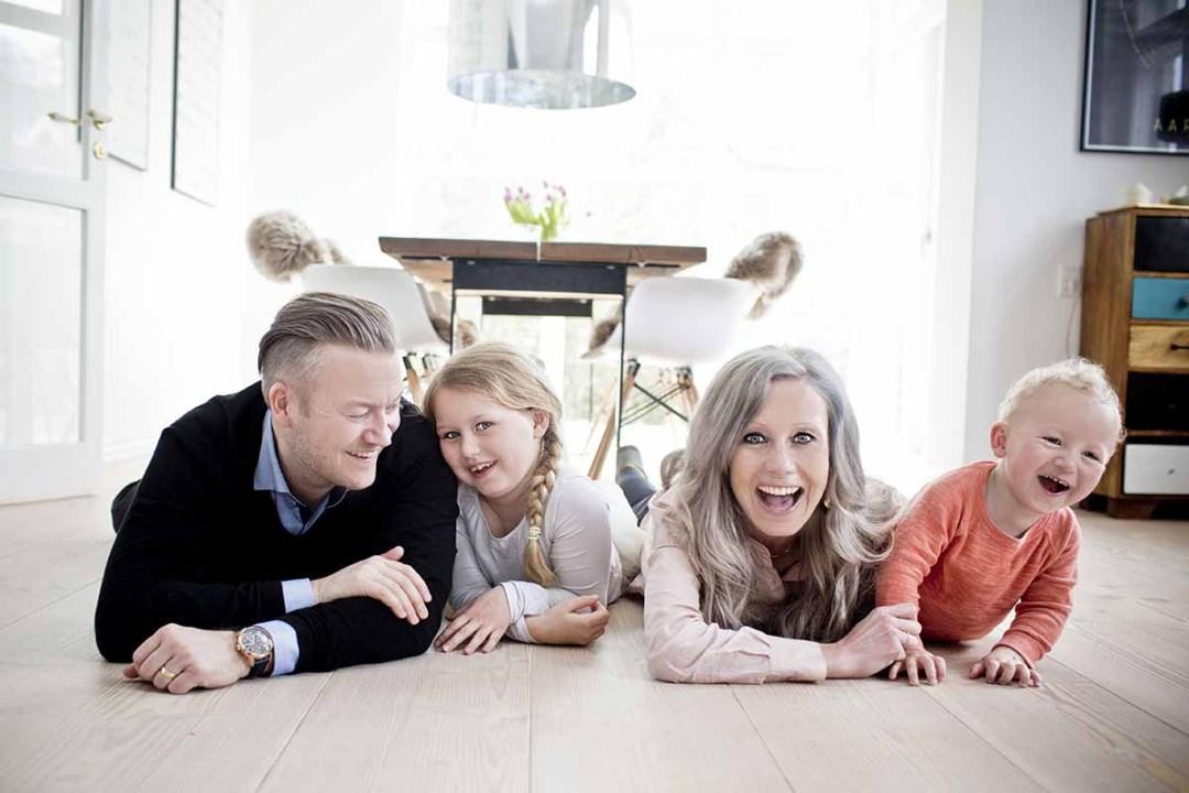 familie foto Herning
