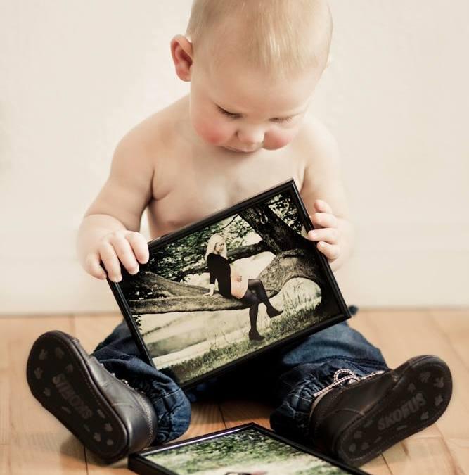 Fotografering af Mor og barn