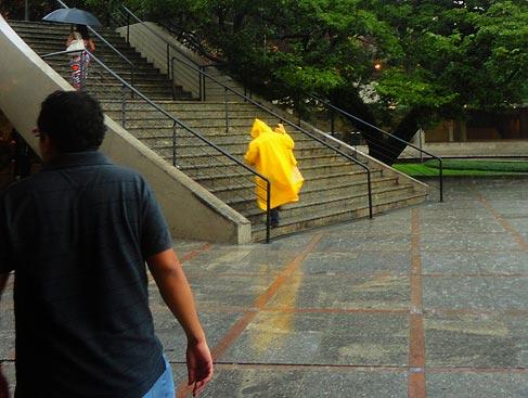Fotografar à chuva