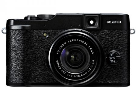 Fujifilm X20 450x313 [rumor] Parceria Canon/Fujifilm nas mirrorless?