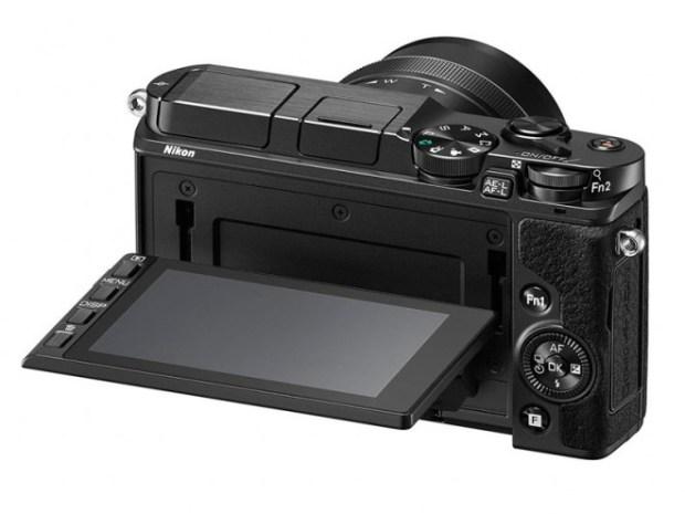 Nikon 1 V3 - traseira