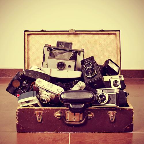 Equipamentos fotográficos em viagem