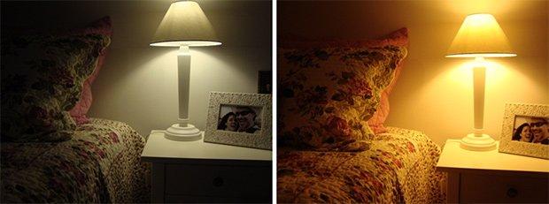 Cama 1 do lado esquerdo e cama 2 do lado direito