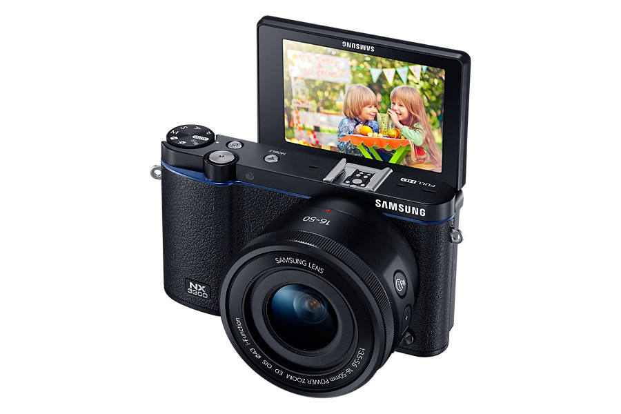 Já tem na Ásia a novíssima Samsung NX3300 - Fotografia DG