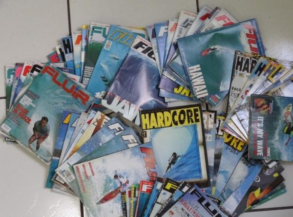 Fig.3 – Revistas de surf