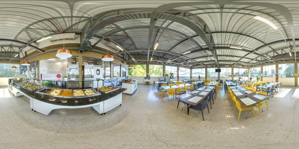 Fotografia 360 restaurantes ALUFRAN
